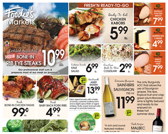 Foodies Markets Weekly Sales